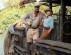 JUNGLE CRUISE - (L-R) Dwayne Johnson as Frank and Emily Blunt as Lily. Photo by Frank Masi. © 2020 Disney Enterprises, Inc. All Rights Reserved.